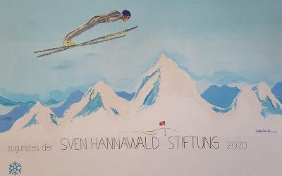 Bildübergabe an Sven Hannawald